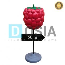 OW42 - Malina -drogowskaz - figura reklamowa-dekoracyjna