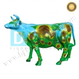 FZ19 - Krowa figura reklamowa,dekoracyjna