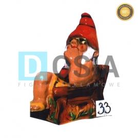 33 - Figura dekoracyjna - Krasnal 52 cm