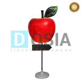 OW18 - Jabłko figura reklamowa-dekoracyjna