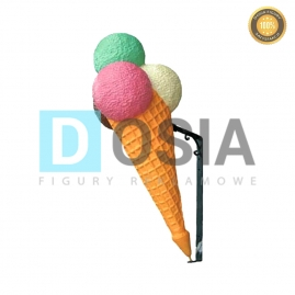 LD06 - Lody figura reklamowa-dekoracyjna