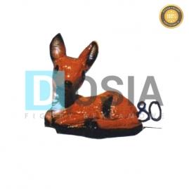 80 - Figura dekoracyjna - Zwierzęta 17 cm