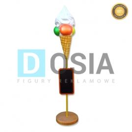 LD80 - Lody figura reklamowa, dekoracyjna