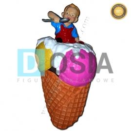 LD11 - Lody figura reklamowa,dekoracyjna