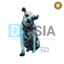 322 - Figura dekoracyjna - Zwierzęta 38 cm