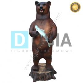 FZ84 - Niedźwiedź figura reklamowa, dekoracyjna