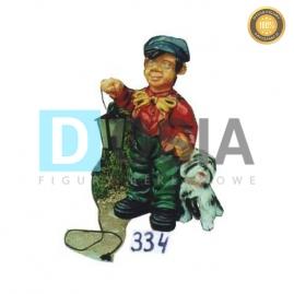 334 - Figura dekoracyjna - Postacie 75 cm