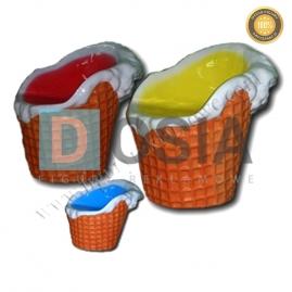 LD16 - Lody figura reklamowa-dekoracyjna
