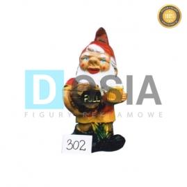 302 - Figura dekoracyjna - Krasnal 40 cm