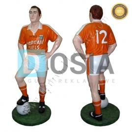 SR05 - Piłkarz figura reklamowa-dekoracyjna