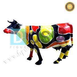 FZ22 - Krowa figura reklamowa,dekoracyjna
