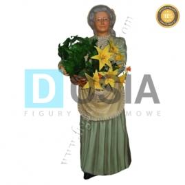 RR05 - Kwiaciarka figura reklamowa, dekoracyjna