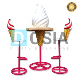 LD77 - Lody figura reklamowa, dekoracyjna