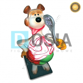 LD21 - Lody figura reklamowa, dekoracyjna