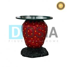 OW37 - Truskawka-stół - figura reklamowa-dekoracyjna