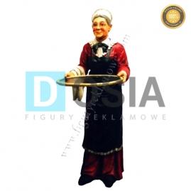 KL02 - Babcia Kelner figura reklamowa-dekoracyjna