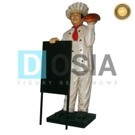 KC06 - Piekarz figura reklamowa-dekoracyjna