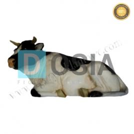 FZ36 - Krowa leżąca figura reklamowa, dekoracyjna