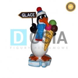 LD81 - Lody figura reklamowa, dekoracyjna