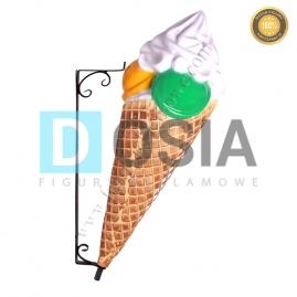 LD29 - Lody figura reklamowa, dekoracyjna