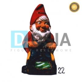 22 - Figura dekoracyjna - Krasnal 71 cm