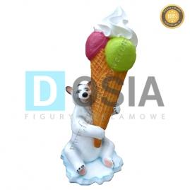 LD56 - Lody figura reklamowa, dekoracyjna