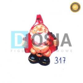 317 - Figura dekoracyjna - Krasnal 28 cm