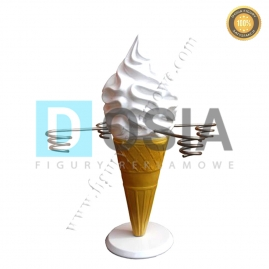 LD27 - Lody figura reklamowa, dekoracyjna