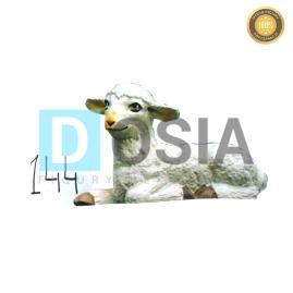 144 - Figura dekoracyjna - Zwierzęta 17 cm