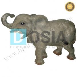 ZW36 - Mały sloń figura reklamowa,dekoracyjna
