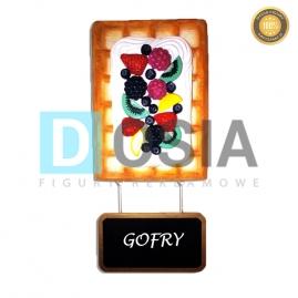GF08 - Gofr figura reklamowa-dekoracyjna