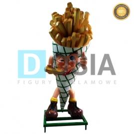 FT16 - Frytki figura reklamowe-dekoracyjna