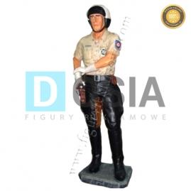 RR06 - Policjant figura reklamowa, dekoracyjna