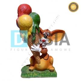 LD35 - Lody figura reklamowa, dekoracyjna