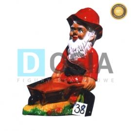 38 - Figura dekoracyjna - Krasnal 72 cm