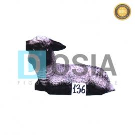 136 - Figura dekoracyjna - Zwierzęta 33 cm