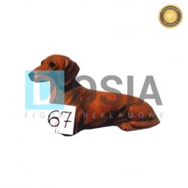 67 - Figura dekoracyjna - Zwierzęta 20 cm