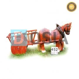 452 - Figura dekoracyjna - Zwierzęta 68 cm