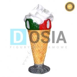 LD25 - Lody figura reklamowa, dekoracyjna