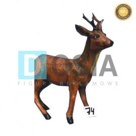 74 - Figura dekoracyjna - Zwierzęta 77 cm