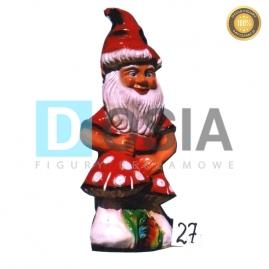 27 - Figura dekoracyjna - Krasnal 75 cm