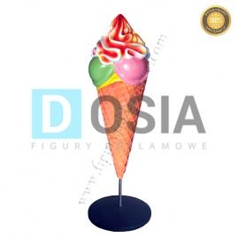 LD23 - Lody figura reklamowa, dekoracyjna
