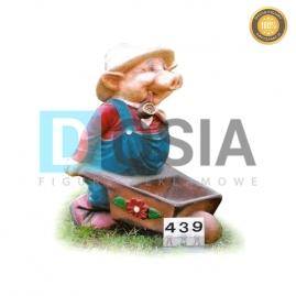439 - Figura dekoracyjna - Postacie 80 cm