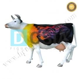 FZ16 - Krowa figura reklamowa, dekoracyjna