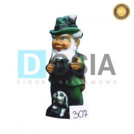 307 - Figura dekoracyjna - Krasnal 40 cm
