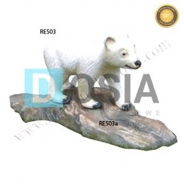 FZ77 - Niedźwiedź figura reklamowa, dekoracyjna