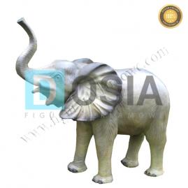 ZW24 - Słoń figura reklamowa,dekoracyjna