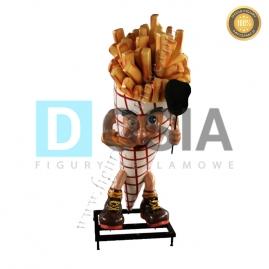 FT34 - Frytki figura reklamowa,dekoracyjna