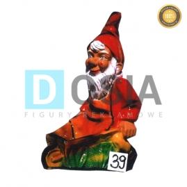 39 - Figura dekoracyjna - Krasnal 75 cm