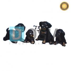 73 - Figura dekoracyjna - Zwierzęta 15 cm